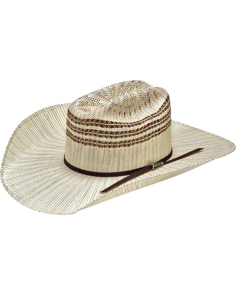 Bangora Straw Hat: Twister Men's Bangora Straw Cowboy Hat
