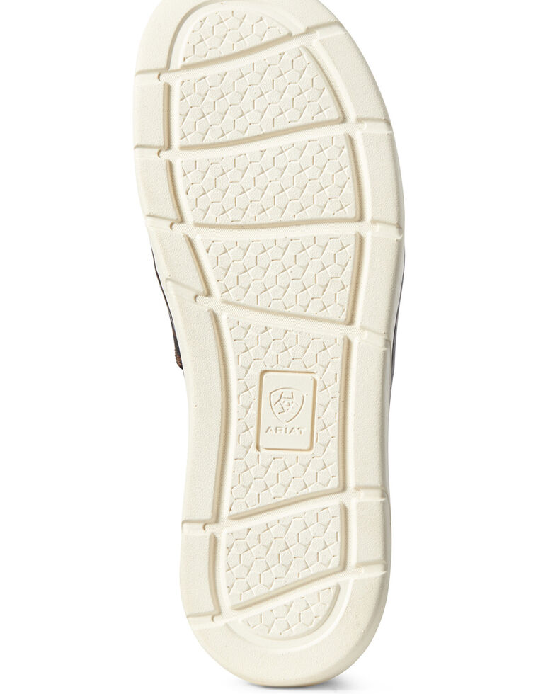 Ariat Women's Ryder Slip-On Burlap Shoes - Round Toe, Brown, hi-res
