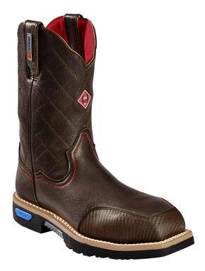Cinch® WRX Men's Flame Resistant Steel Toe Work Boots, Brown, hi-res