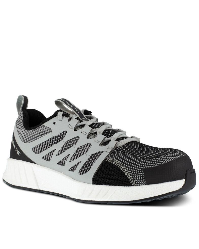 Reebok Men's Grey Flexweave Work Shoes - Composite Toe, Grey, hi-res