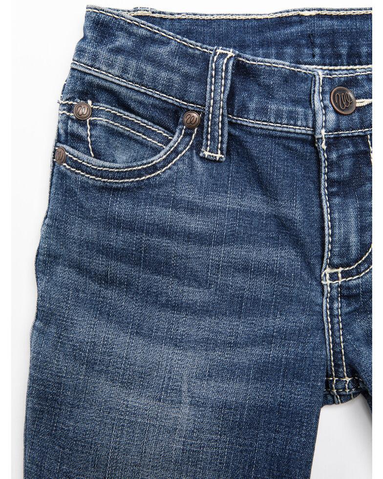 Wrangler Girls' Medium Everyday Bootcut Jeans, Blue, hi-res