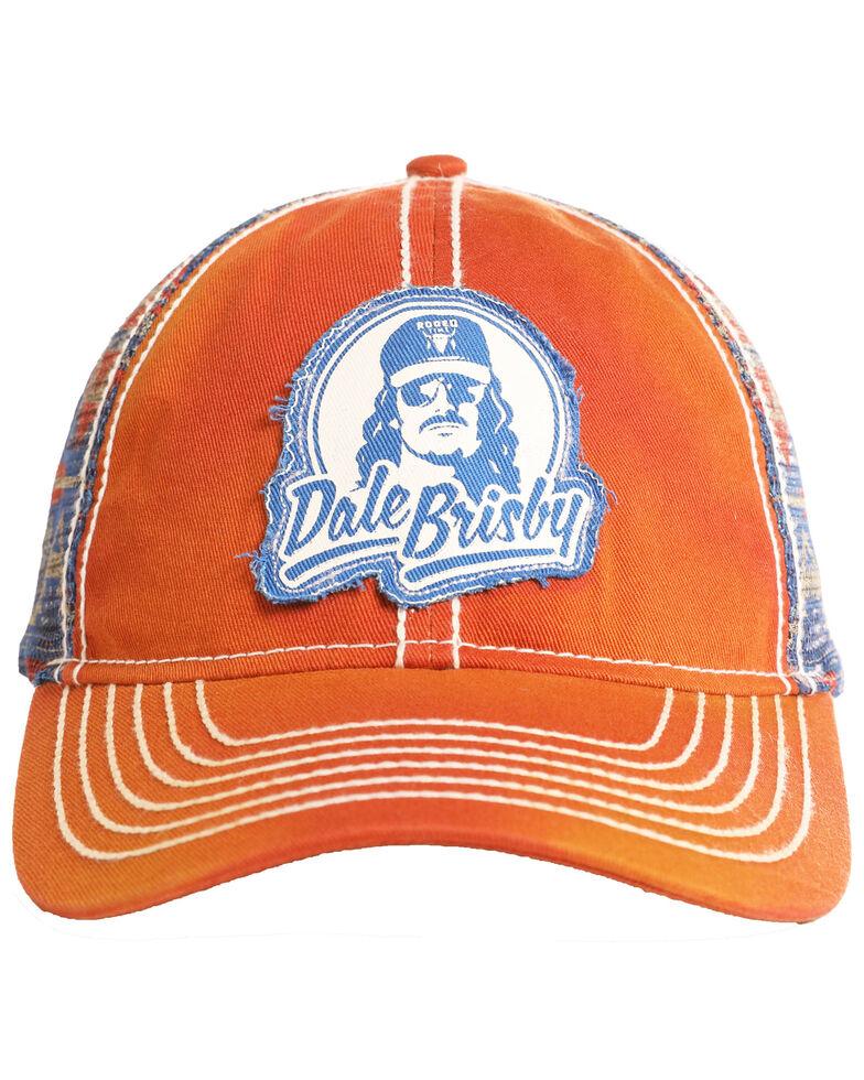 Dale Brisby Men's Logo Patch Denim Ball Cap , Red, hi-res