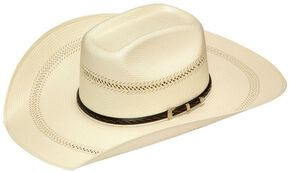 6eabad53e1a Twister 20X Shantung Buckle Band Straw Cowboy Hat