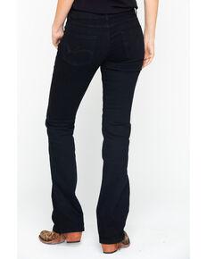 Wrangler Women's Mae Mid-Rise Boot Cut Jeans, Black, hi-res