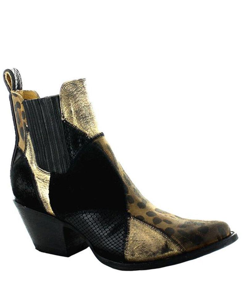Old Gringo Women's Gianna Fashion Booties - Round Toe, Black, hi-res
