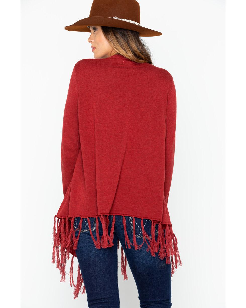 Tasha Polizzi Women's Waco Sweater, Wine, hi-res