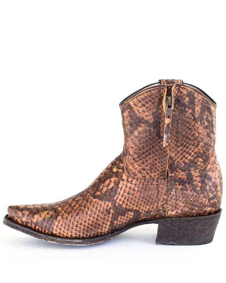 Miss Macie Women's Annie Fashion Boots - Snip Toe, Brown, hi-res