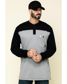 Cinch Men's FR Multi Solid Long Sleeve Work Shirt , Multi, hi-res