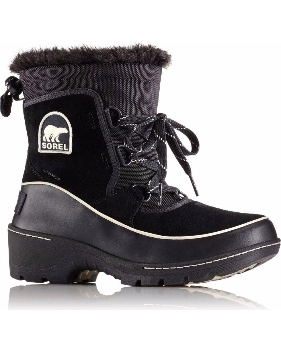 SOREL Women's Black Tivoli III Waterproof Winter Boots , Black, hi-res