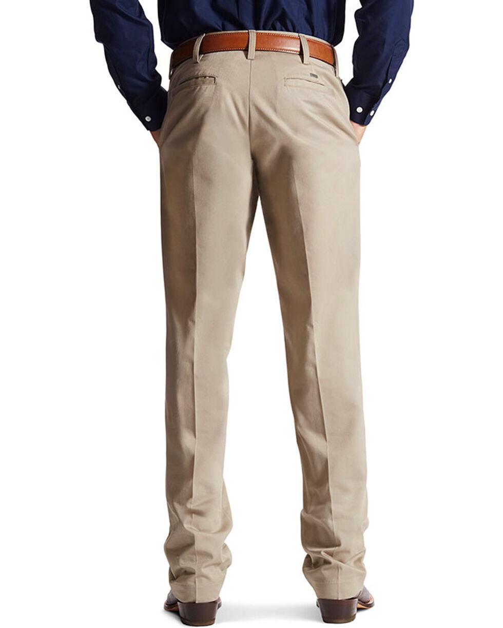 Ariat Men's M2 Performance Khaki Relaxed Fit Pants - Boot Cut, Tan, hi-res