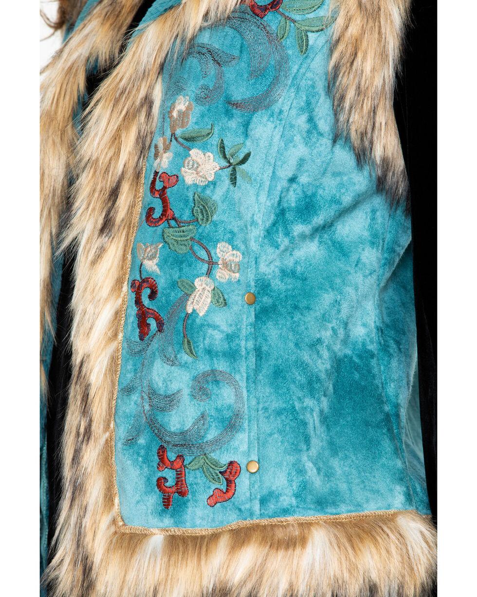 Tasha Polizzi Women's Chateau Vest , Blue, hi-res