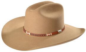 Stetson Men's Light Brown Monterey T Felt Cowboy Hat , Lt Brown, hi-res