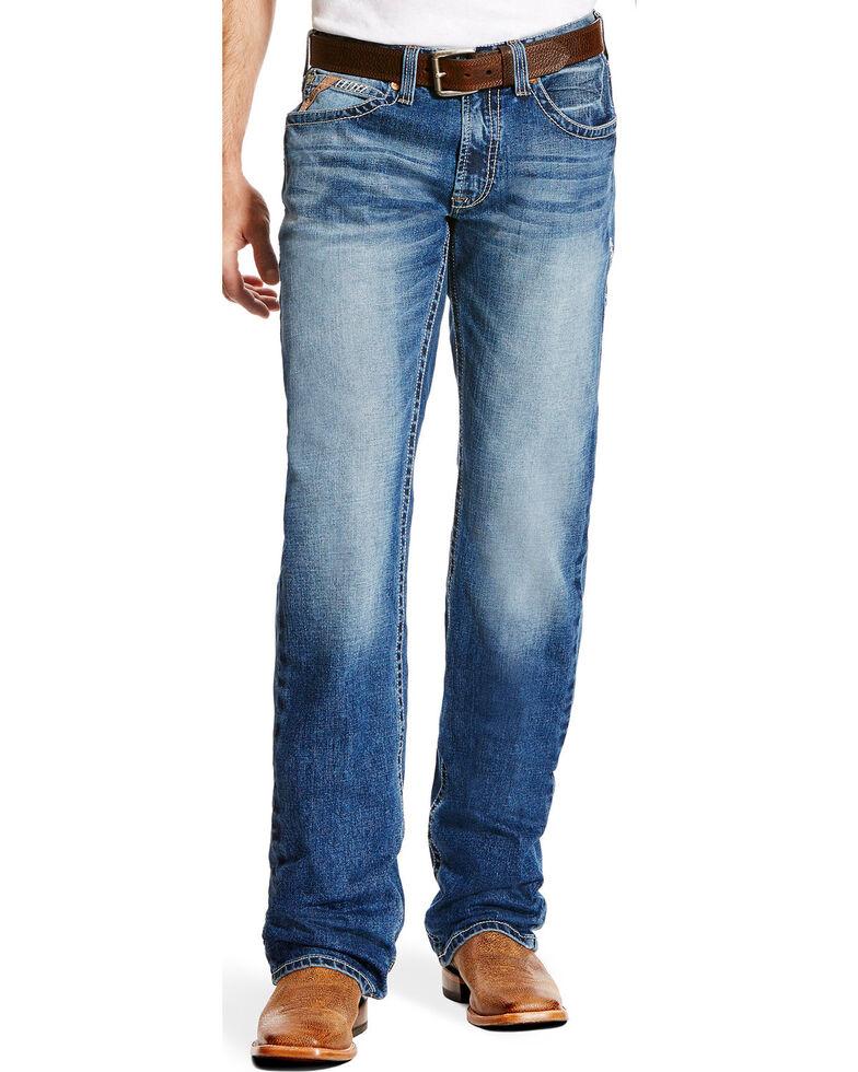 Ariat Men's M5 Stillwell Low Slim Straight Jeans , Indigo, hi-res