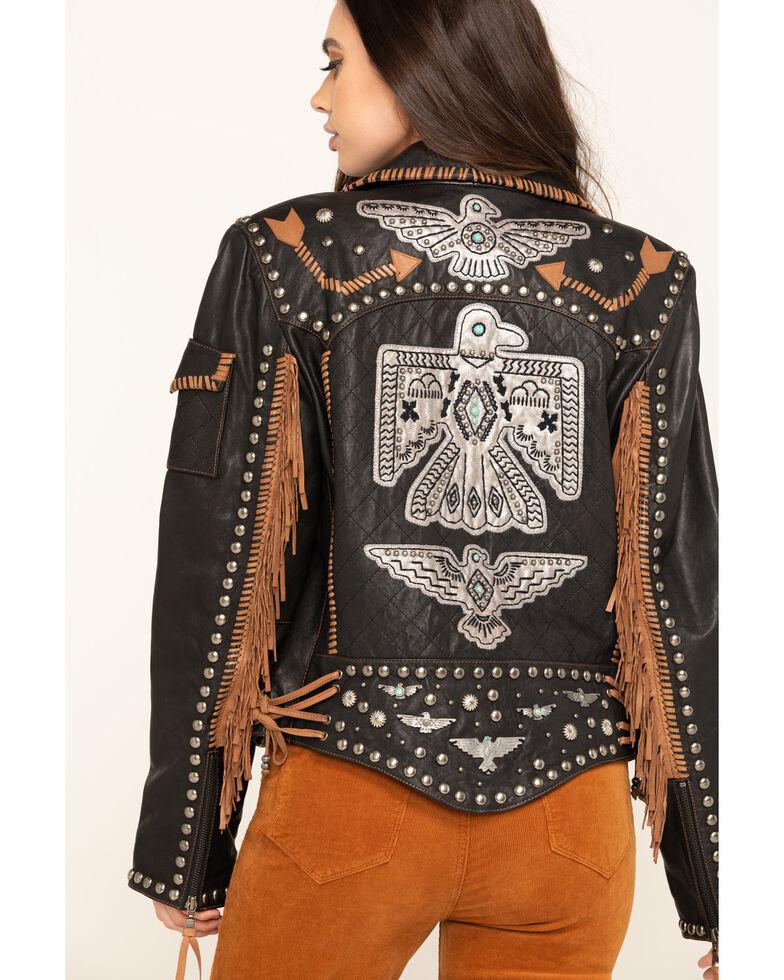 Double D Ranch Women's Black Rainbird Jacket, Black, hi-res