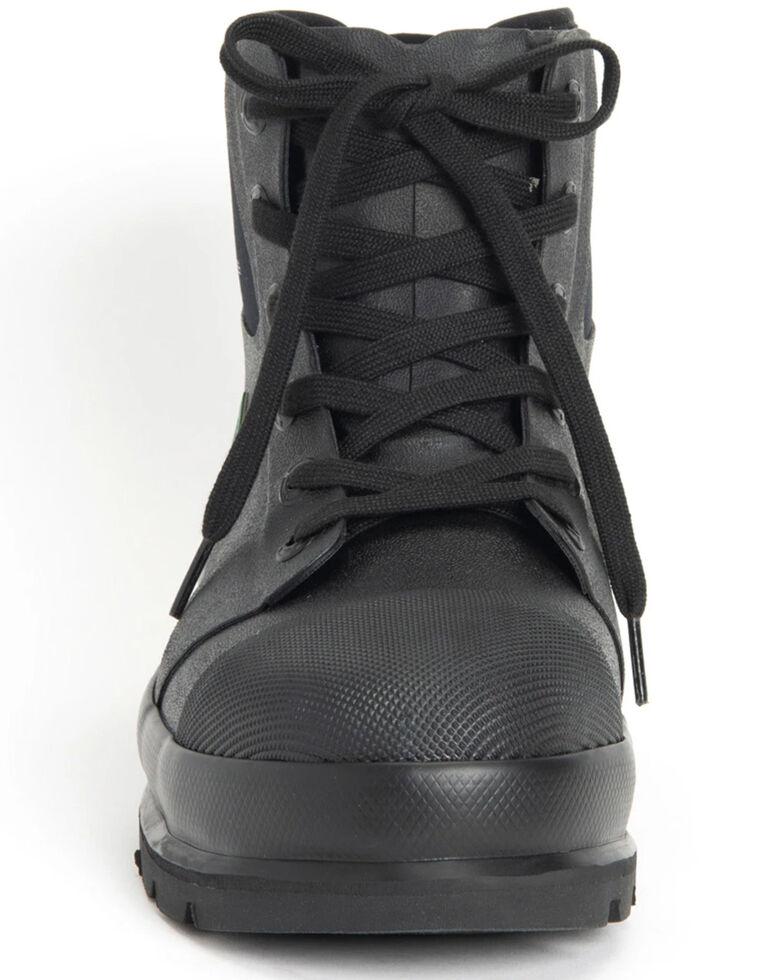 Muck Boots Men's Chore Classic Work Boots - Steel Toe, Black, hi-res
