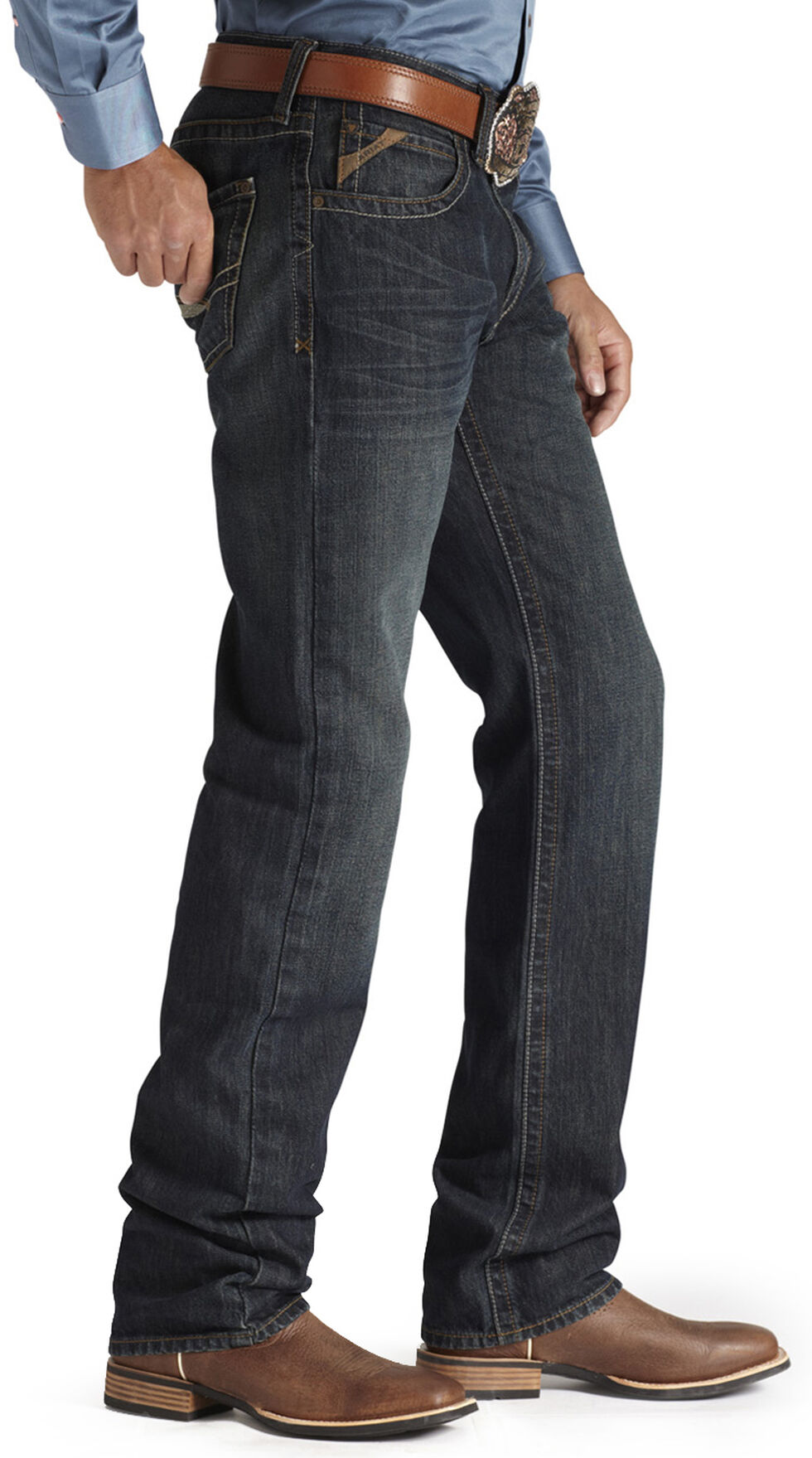 Ariat Denim Jeans - M2 Dusty Road Relaxed Fit, Denim, hi-res