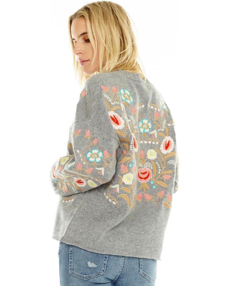 Aratta Women's Weekend Sweater, Heather Grey, hi-res
