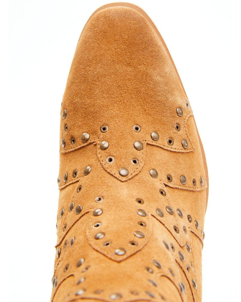 Idyllwind Women's Tawny Fashion Booties - Round Toe, Tan, hi-res