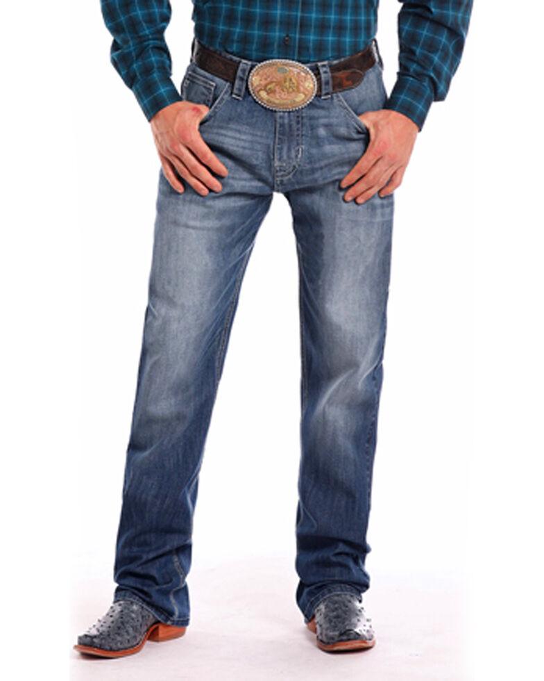 Tuf Cooper Men's Straight Leg Jeans , Indigo, hi-res