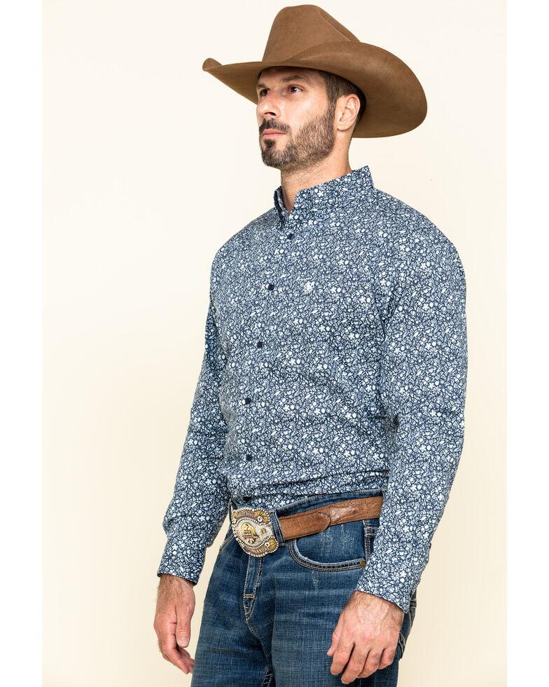 Ariat Men's Nellings Paisley Print Long Sleeve Western Shirt , Multi, hi-res