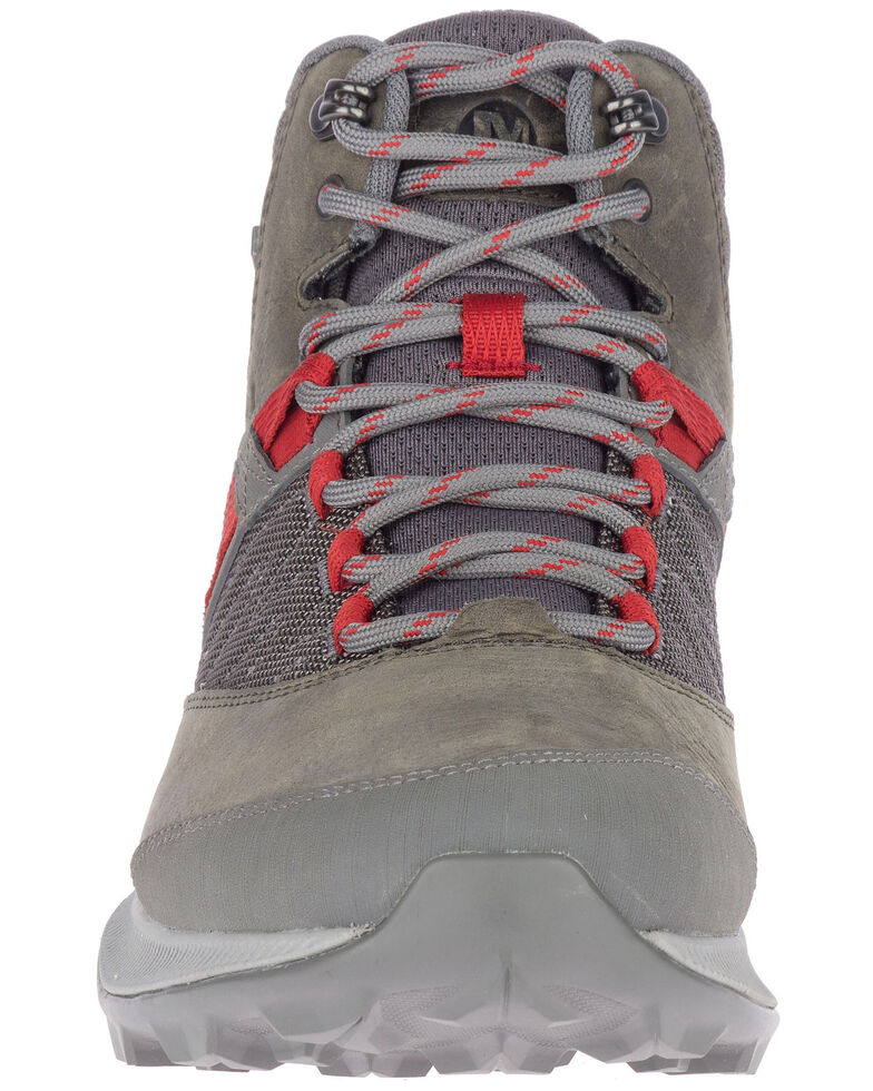 Merrell Men's Zion Waterproof Hiking Boots - Soft Toe, Grey, hi-res