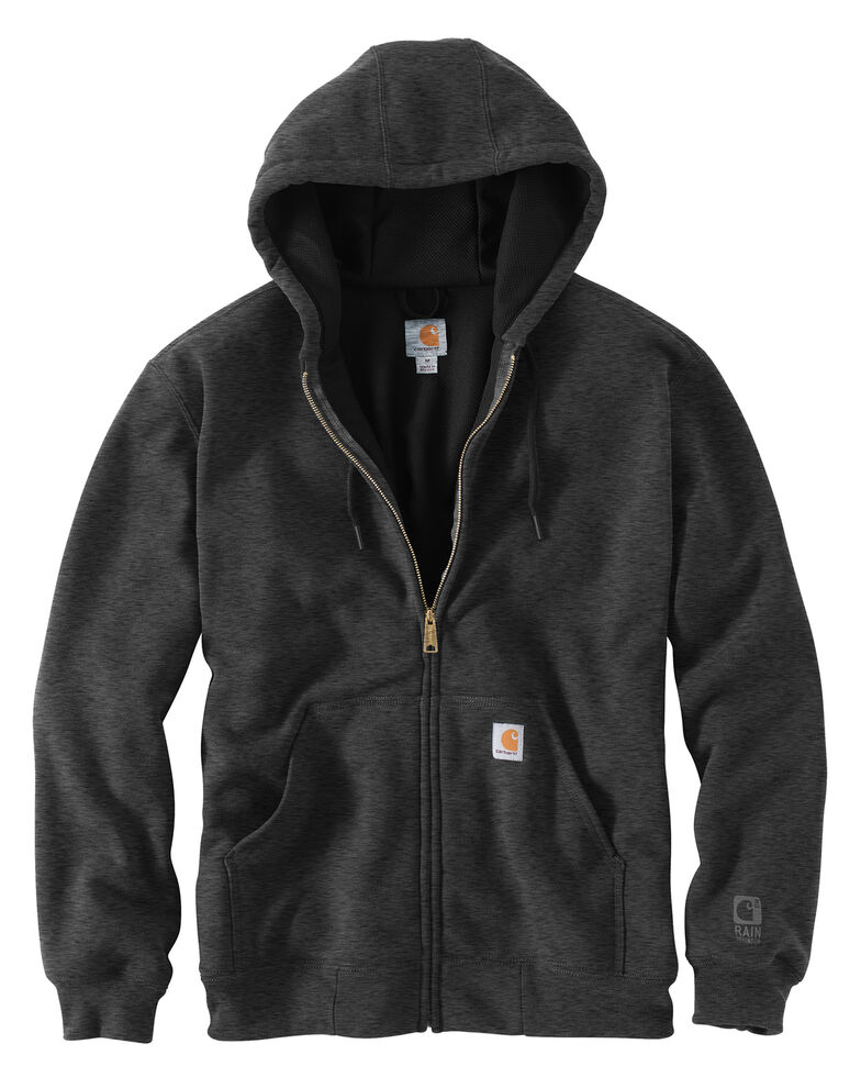 Carhartt Thermal Lined Hooded Zip Jacket - Big & Tall, Charcoal, hi-res