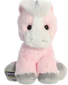 "Breyer Girls' 8"" Pink Unicorn Doll, Pink, hi-res"