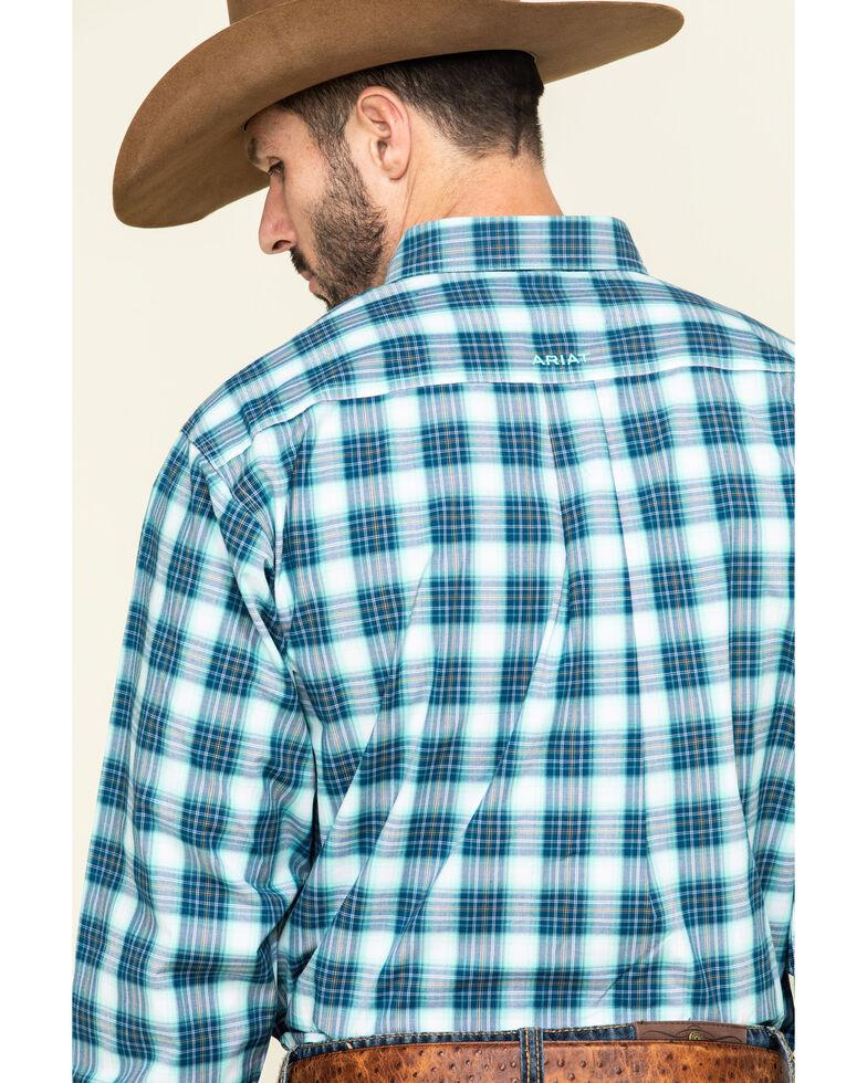 Ariat Men's Roselle Multi Plaid Long Sleeve Western Shirt - Big , Multi, hi-res