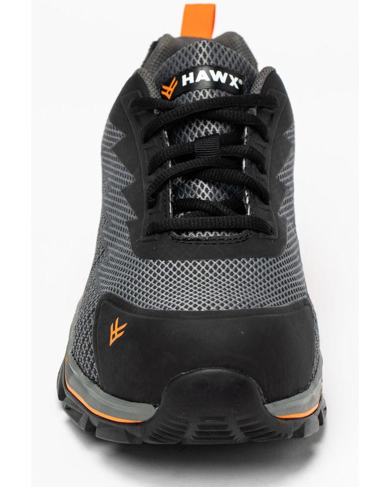 Hawx® Men's Athletic Sneaker Work Boots - Composite Toe, Grey, hi-res
