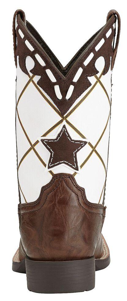 Ariat Youth Boys' Dakota Dogger Cowboy Boots - Square Toe, Brown, hi-res