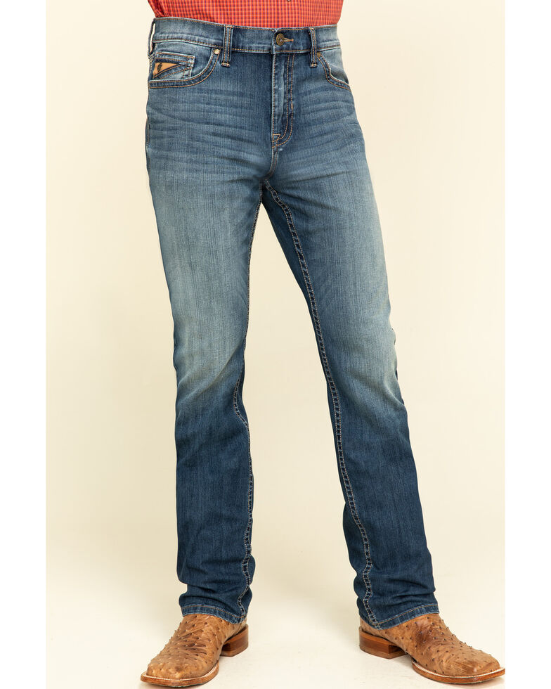 Cody James Core Men's Sidewinder 4-Way Performance Stretch Slim Straight Jeans , Blue, hi-res