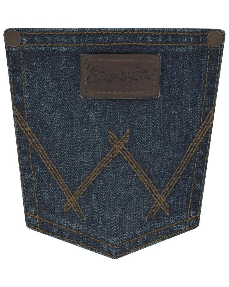 Wrangler Retro Boys' Barton Springs Stretch Relaxed Bootcut Jeans , Blue, hi-res