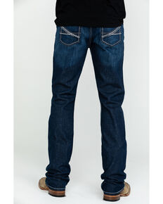 Cinch Men's Ian Dark Mid Slim Boot Jeans , Indigo, hi-res