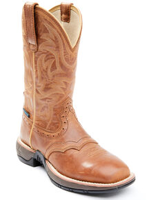 Shyanne Women's Charley Lite Performance Western Boots - Wide Square Toe, Tan, hi-res