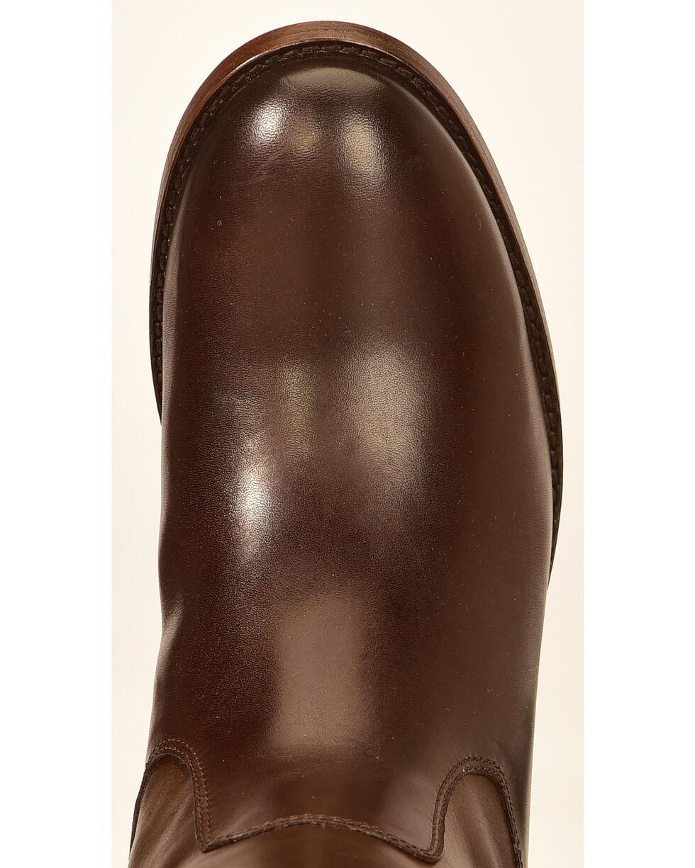 Frye Women's Melissa Button Riding Boots, Dark Brown, hi-res