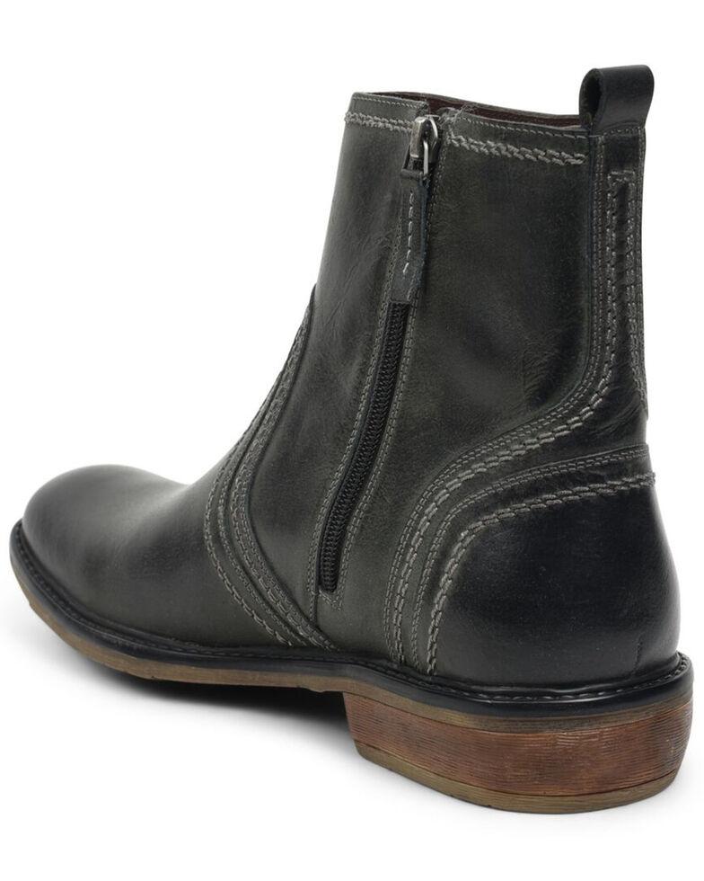 Evolutions Men's Grey Crestone Chelsea Boots - Round Toe, Dark Grey, hi-res