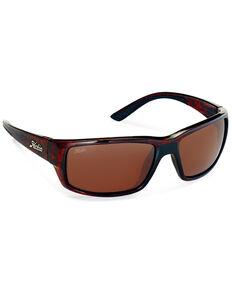 Hobie Snook Shiny Dark Brown Tort & Copper Polarized Sunglasses , Dark Brown, hi-res