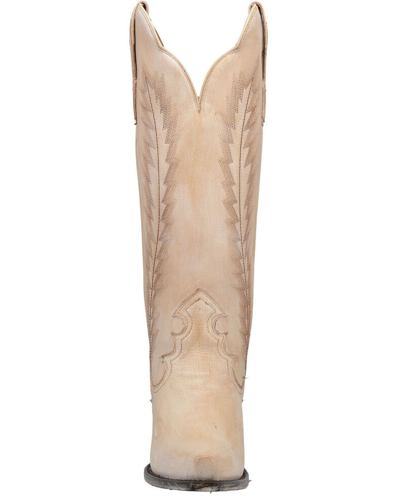 Dan Post Women's Valli Western Boots - Snip Toe, Off White, hi-res