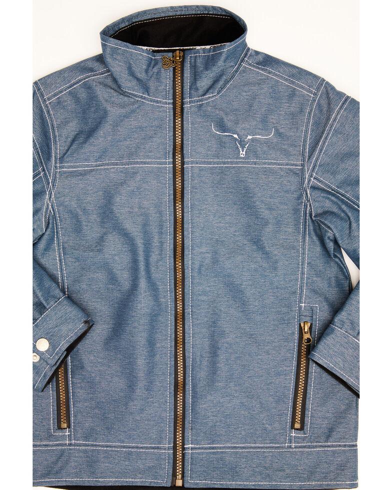 Cowboy Hardware Boys' Blue Tech Woodsman Jacket, Blue, hi-res