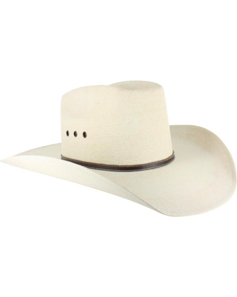 3512337ec9a66 Atwood Men s 7X Kaycee Palm Leaf Straw Cowboy Hat - Country Outfitter