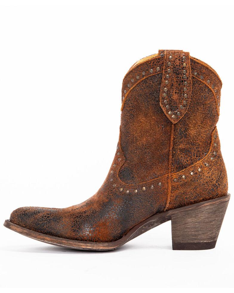 Idyllwind Women's Two Step Western Booties - Medium Toe, Rust Copper, hi-res