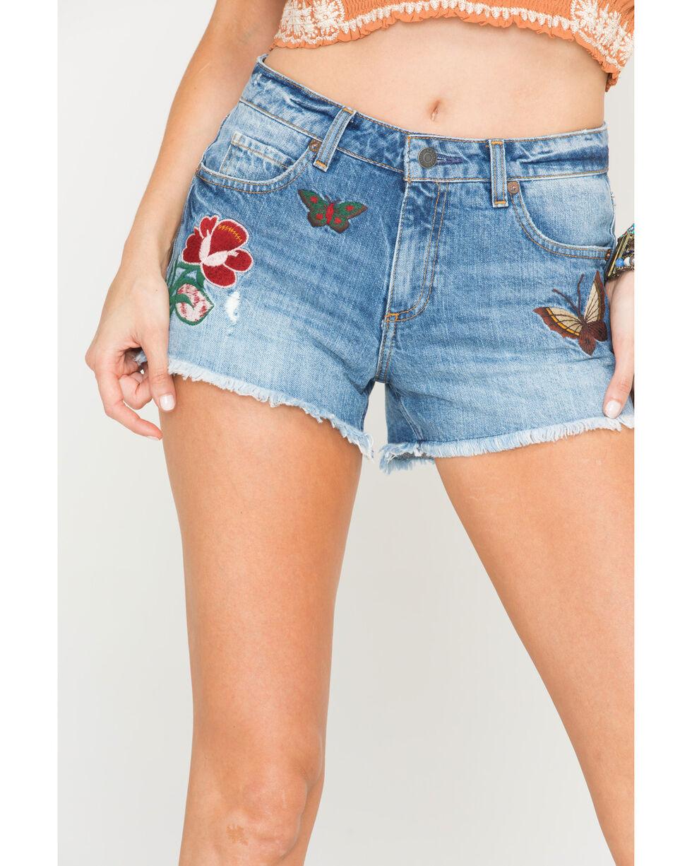 MM Vintage Women's Baylee Cutoff Shorts, Indigo, hi-res