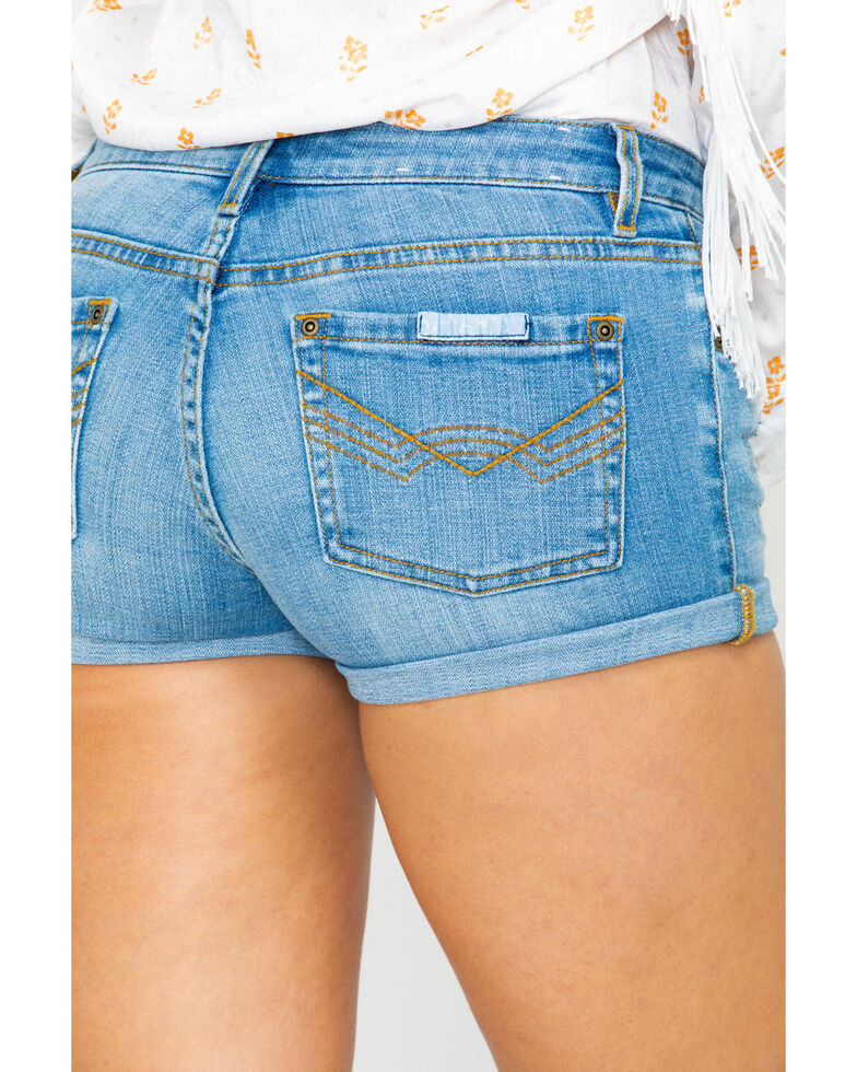 Idyllwind Women's Let It Roll Shorts , Blue, hi-res