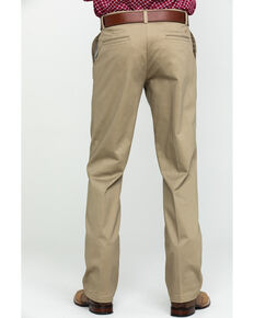 Wrangler Men's Khaki Casual Pleated Front Western Pants , Beige/khaki, hi-res
