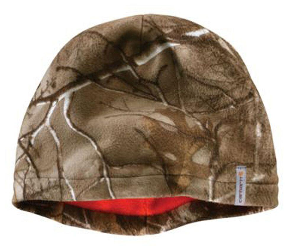 Carhartt Men's Force Swifton Camo Fleece Cap, , hi-res