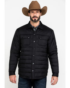 Moonshine Spirit Men's Diamond Quilted Lightweight Puffer Jacket , Black, hi-res