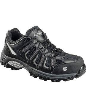 Nautilus Men's Electrical Hazard Athletic Shoes - Safety Toe, Black, hi-res