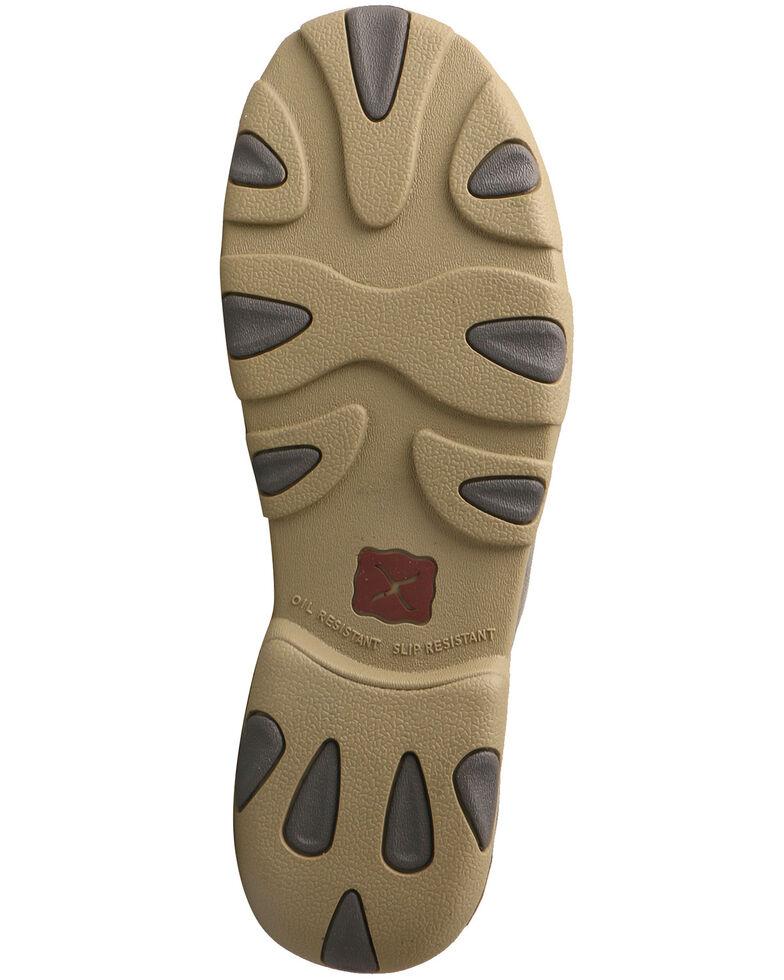 Twisted X Men's Driving Shoes - Moc Toe, Grey, hi-res