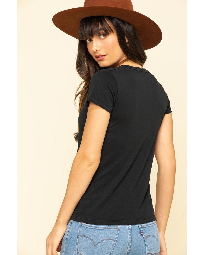 Bandit Brand Women's Horsepower Graphic Short Sleeve Tee , Black, hi-res