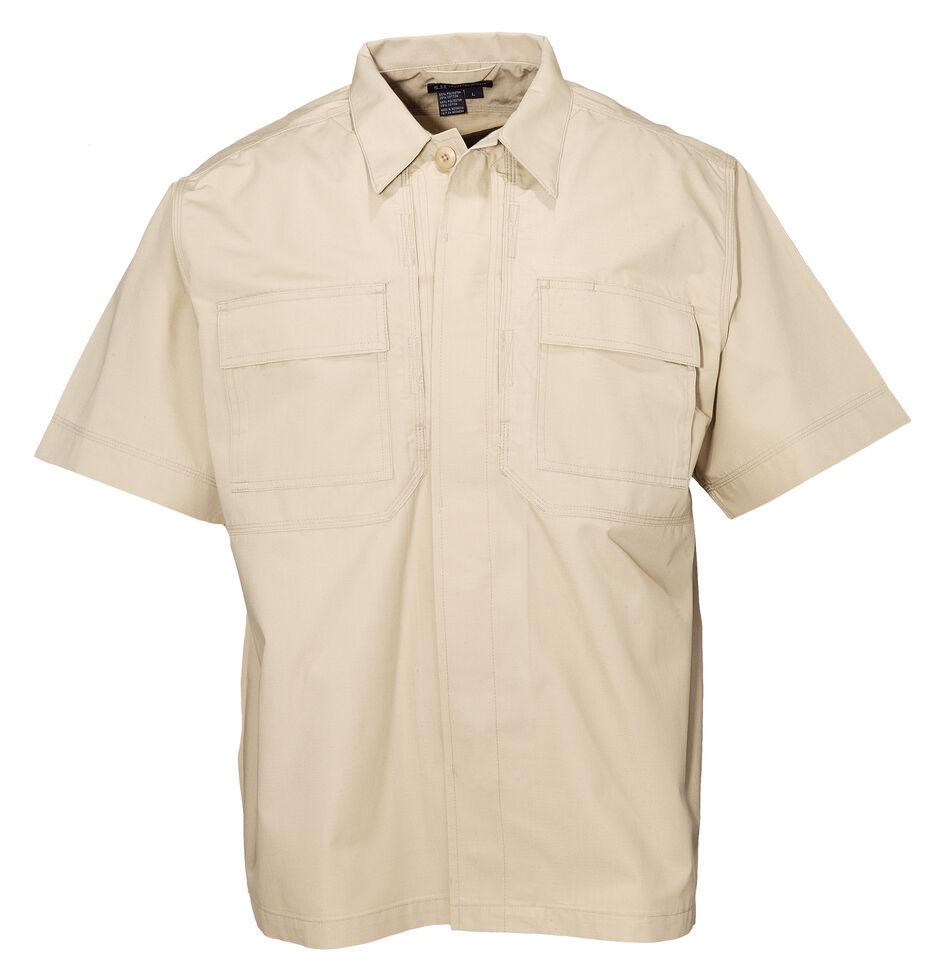 5.11 Tactical TDU Taclite Ripstop Shirt (3XL-4XL), Khaki, hi-res